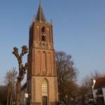 Kerktoren-Houten-Oude Dorp-Wagenmakerij Verweij