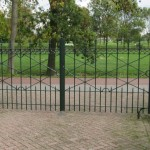Project-Hekwerk met poort-poort