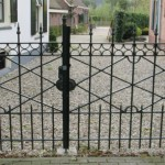 Project-Hekwerk met poort--poort2-wagenmakerij-Verweij