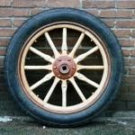 Project-antieke auto's-Clement Bayard-houten wiel 2-wagenmakerij-Verweij