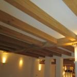 Project-eiken kapspanten-balkenplafond