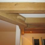 Project-eiken kapspanten-balkenplafond-hoek