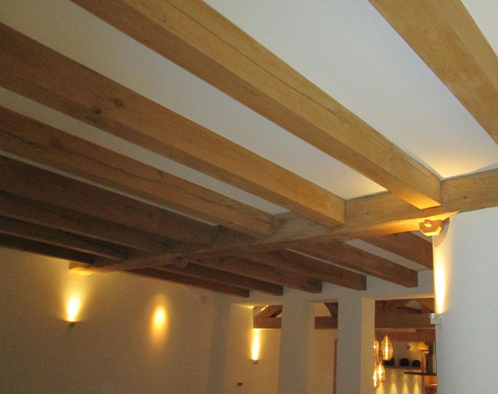 Houten plafond zolder - Houten balkenplafond ...