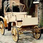 Rijtuig-Jachtwagen met kap-voorzijde-Wagenmakerij-Verweij