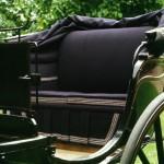 Rijtuig-Tilbury-detail bekleding-Wagenmakerij-Verweij