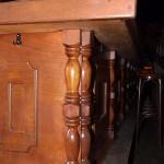 Houtdraaien-houtdraaiwerk-Tapperij de Zwijger-halve balusters-Verweij-Houten-