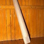 centrische (ronde) spaak voor houten wiel